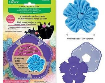 Quick Yo-yo Maker Flower Shaped (large) - Clover 8707