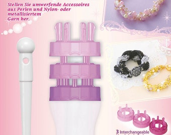 French Knitter - Bead Jewelry Maker - Clover 3100