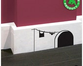 Original Mouse Hole Wall Sticker