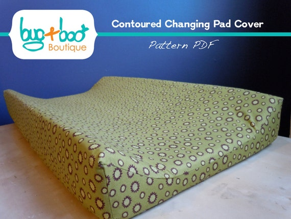 Contoured Changing Pad Cover - Pattern