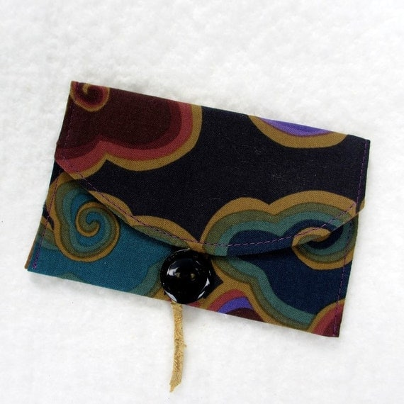 Business Card Holder / Business Card Case / Fabric Gift Card