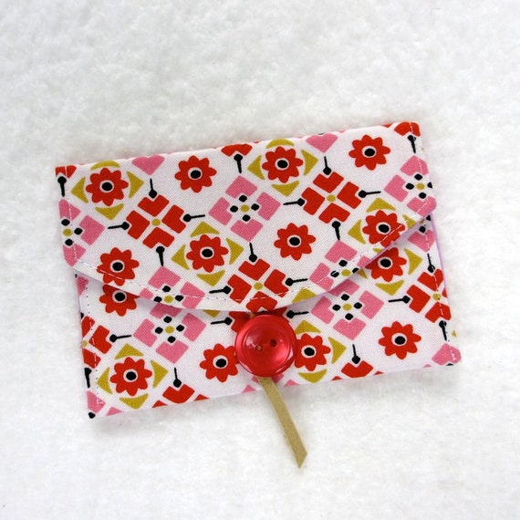 Business Card Holder, Fabric Card Case, Gift Card Holder