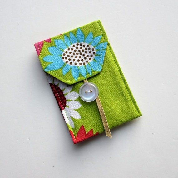 Fabric Card Case, Business Card Holder, Wallet