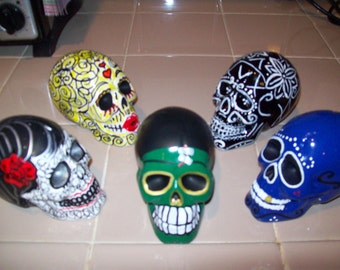 day of the dead skulls on sale 2 for 35