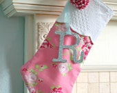 Vintage matelasse floral pink background and red roses with ruffled gingham rose