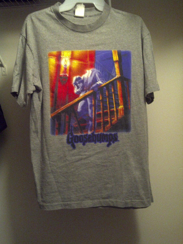 Vintage Book Cover T Shirts : Goosebumps headless ghost shirt