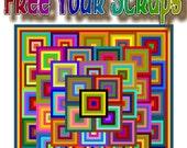FREE YOUR SCRAPS - Quilt-Addicts Patchwork Quilt Pattern