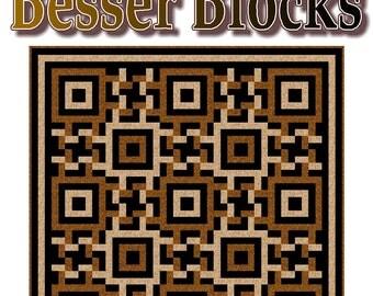 BESSER BLOCKS - Quilt-Addicts Patchwork Quilt Pattern