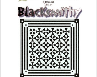 BLACKSMITHY - Quilt-Addicts Patchwork Quilt Pattern