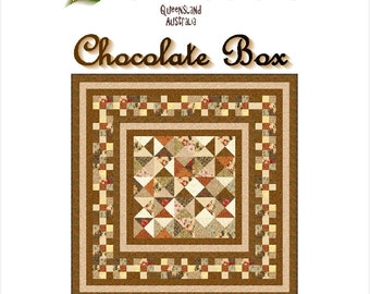 CHOCOLATE BOX - Quilt-Addicts Patchwork Quilt Pattern