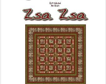 ZSA ZSA - Quilt-Addicts Patchwork Quilt Pattern