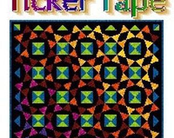 TICKER TAPE - Quilt-Addicts Patchwork Quilt Pattern