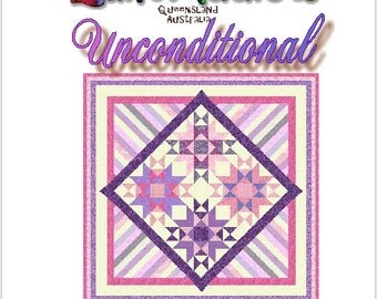 UNCONDITIONAL - Quilt-Addicts Patchwork Quilt Pattern