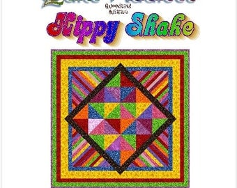 HIPPY SHAKE - Quilt-Addicts Patchwork Quilt Pattern