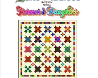 FARMER'S DAUGHTER - Quilt-Addicts Patchwork Quilt Pattern