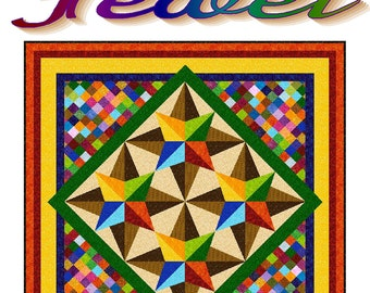 JEWEL - Quilt-Addicts Patchwork Quilt Pattern