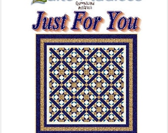 JUST FOR YOU - Quilt-Addicts Patchwork Quilt Pattern
