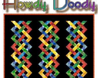 HOWDY DOODY - Quilt-Addicts Patchwork Quilt Pattern