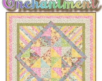 ENCHANTMENT - Quilt-Addicts Patchwork Quilt Pattern