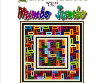 MUMBO JUMBO - Quilt-Addicts Patchwork Quilt Pattern