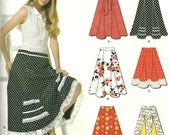 New Look 6944 Womens Swishy Skirt with Godets Pattern Uncut 4 6 8 10 12 14 16