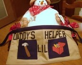 Childs Apron Daddy's Helper