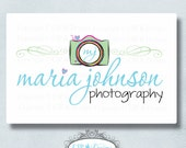Premade Logo and Watermark...Pre made logo design...Deluxe Premade Photography Logo