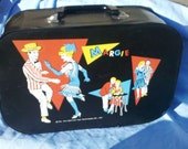 vintage margie vinyl overnight or cosmetic case 1962 must see excellent condition