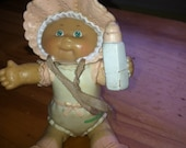Vintage 1984 CPK Cabbage Patch Kids PVC Figure baby girl