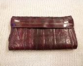 SALE Eel Skin Wallet
