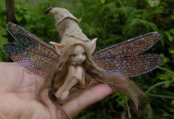 Reserved listing for Pamela 123 sweet fairy pixie fairie full sculpt ooak
