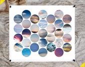 July Sky Medium Print 11 x 14 inches