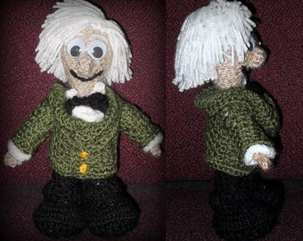 Small Third Doctor (1970 to 1974), a Handmade Doctor Who Doll