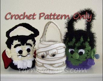 Halloween Monsters Trick or Treat Bags