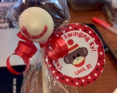 Sock Monkey Cake Pops - 1 Dozen