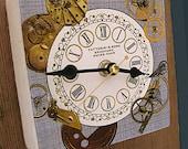 Wall Clock Steampunk Style