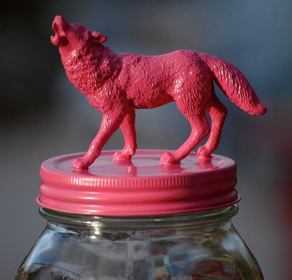 Hot Pink She Wolf Jar