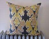 23x23 Bengal Bazaar in Bronze Decorative Pillow Cover