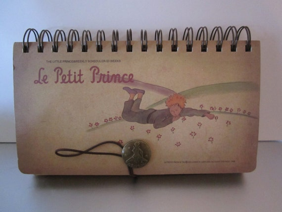 Little Prince Journal and 4 small matching notebooks for all your journaling and planning