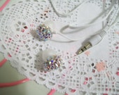 Swarovski ear buds in Any color Swarovski