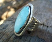 Cool Blue Reason Turquoise Ring