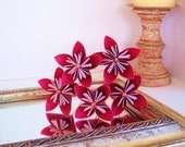 Paper flowers, origami flower bouquet