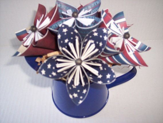 Paper flowers, origami paper flowers