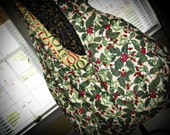 Knitting Contessa Bag: Holly & Joy Print