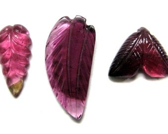 Water Melon Tourmaline Carving Leaf , Gorgeous Multi Colour Tourmaline Carved Gemstone , Hand carved tourmaline leaf