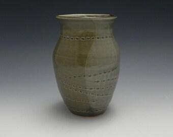 Large Celedon Vase