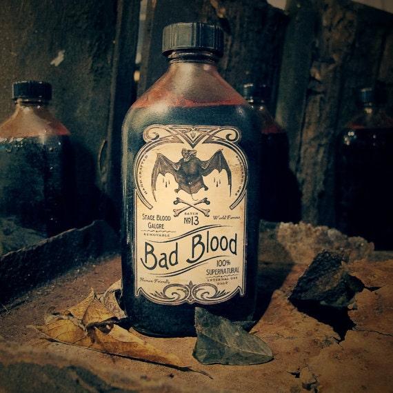 Original Bad Blood: Stage Blood Galore