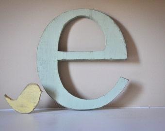 Nursery Wood Letter Monogram Baby Name