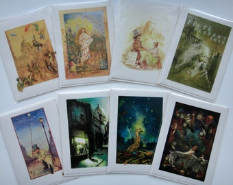 Set of 8 Blank Greeting Cards - Your Choice by Tony Troy