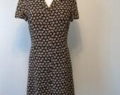 Vintage Printed Shirtdress
